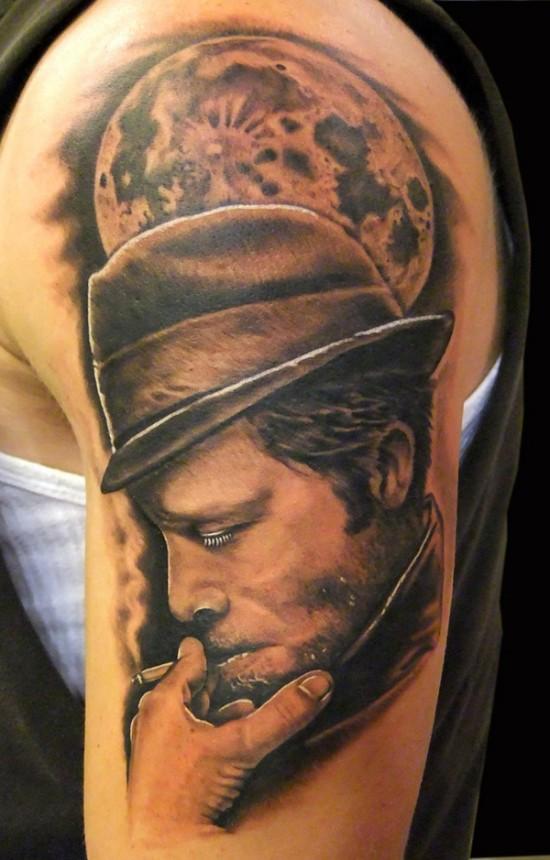 Awesome portrait tattoo designs - ego-alterego.com Альтер Эго Тату